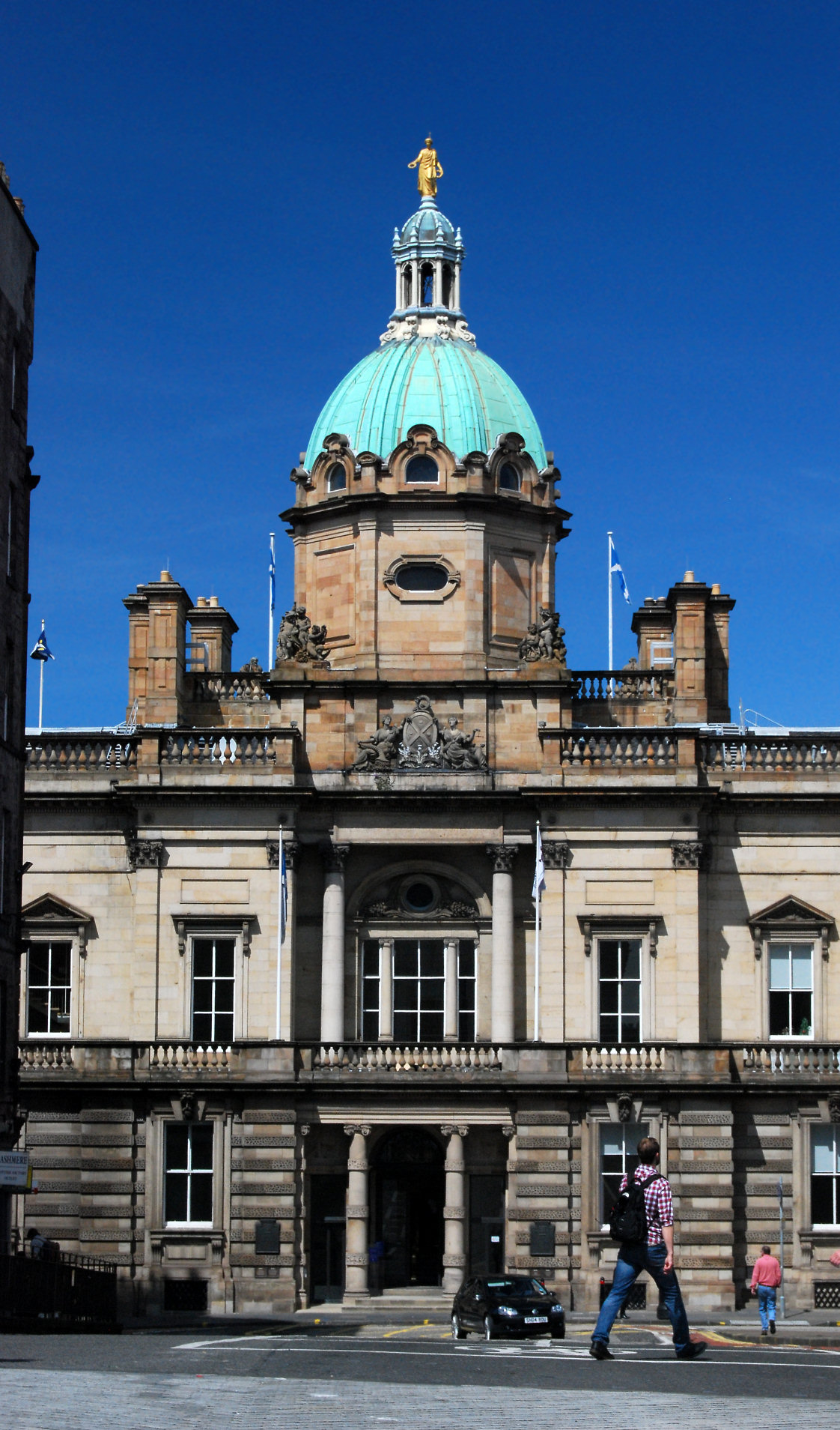 Picture of the Bank of Scotland